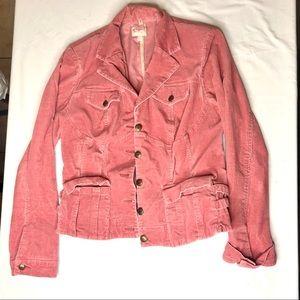 Candie's Pink corduroy jacket